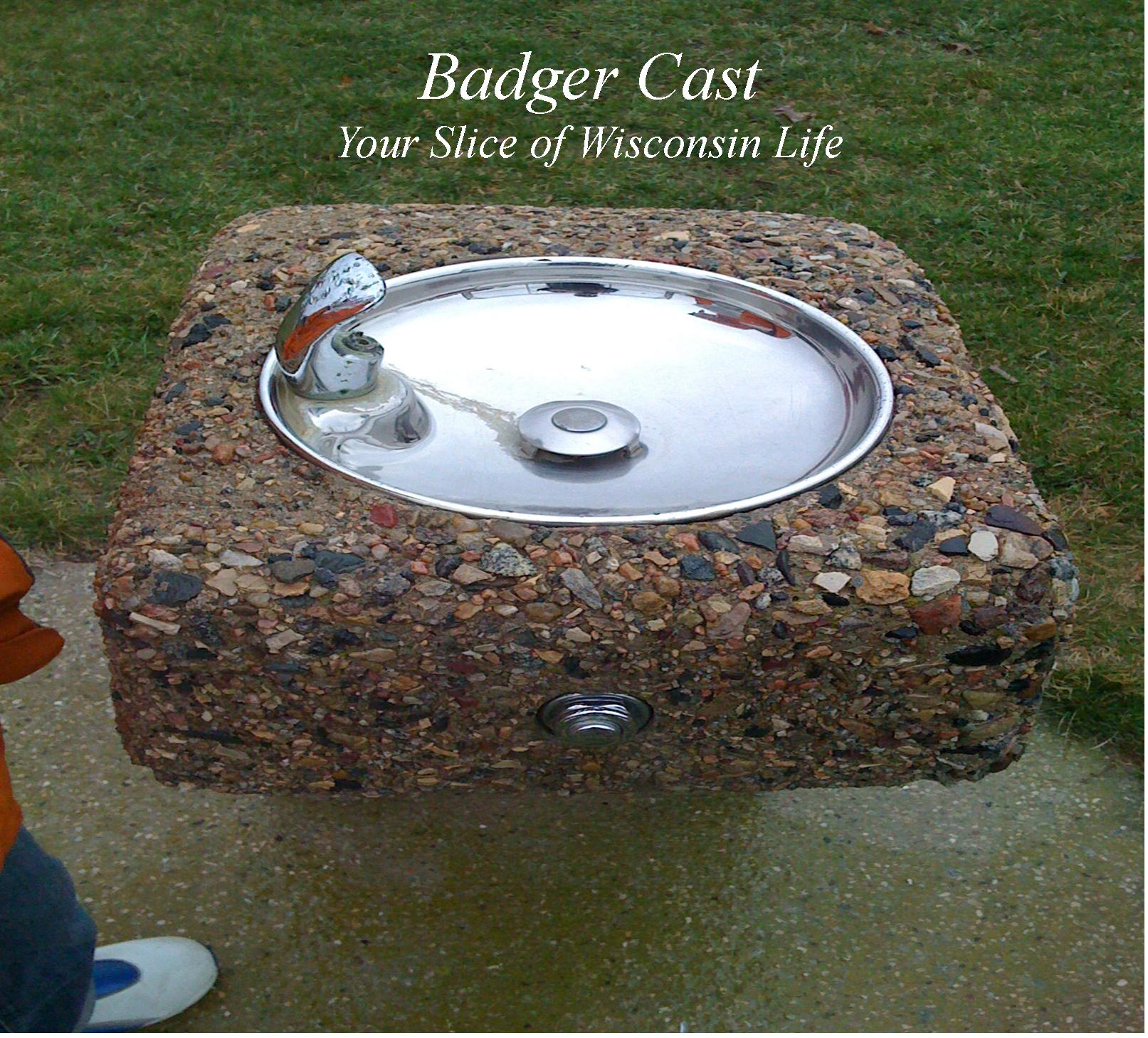 Badger Cast - Picture of a bubbler or drinking fountain 