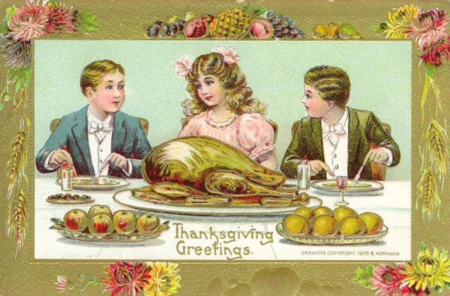 Thankgiving Image - Courtesy www.vintageholidaycrafts.com